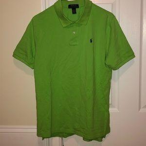 Polo Ralph Lauren Lime Green Polo, Kids XL